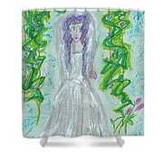 Hera Juno Shower Curtain by First Star Art