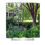 Herb Garden0981 Shower Curtain