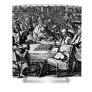 Herbal Medicine, 1676 Shower Curtain