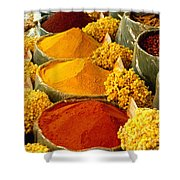 Herbs And Spices Shower Curtain
