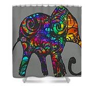 Herd Of Colors Shower Curtain