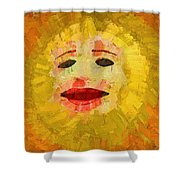 Here Comes The Sun One Shower Curtain
