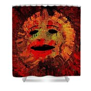 Here Comes The Sun Three Shower Curtain