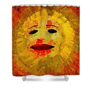 Here Comes The Sun Two Shower Curtain