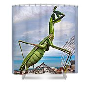 Here They Come Shower Curtain