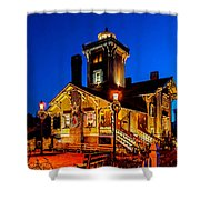 Hereford Christmas Shower Curtain