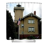 Hereford Inlet Lighthouse Shower Curtain