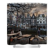 Kaizersgracht 451. Amsterdam. Holland Shower Curtain