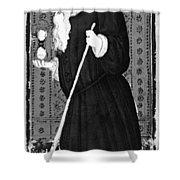 Hermit, 1430 Shower Curtain