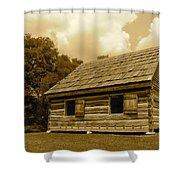 Hermitage Farmhouse 2 Shower Curtain