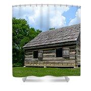Hermitage Farmhouse Shower Curtain