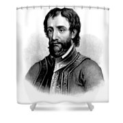 Hernando De Soto, Spanish Conquistador Shower Curtain