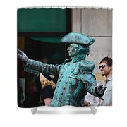 He's Alive Shower Curtain
