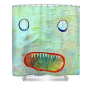 He's Just Misunderstood Shower Curtain