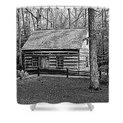 Hesler Log Home 10234b Shower Curtain