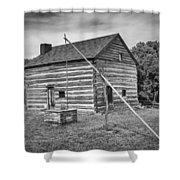 Hetchler House Farmstead Shower Curtain