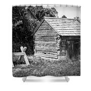 Hetchler House Shed Shower Curtain