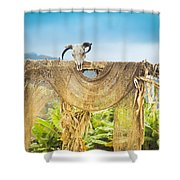 Heu-mann Shower Curtain