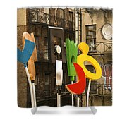 Hewitt Sculpture Shower Curtain