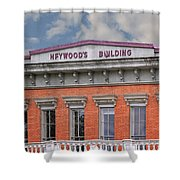 Heywoods Heywood Building In Old Sacramento California Shower Curtain