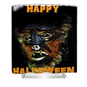 Hh Wolfman Card Style Shower Curtain
