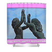 Hi Five Shower Curtain
