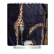 Hi There Oryx Shower Curtain