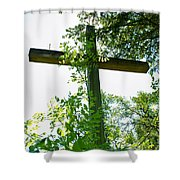 Hidden Faith Shower Curtain