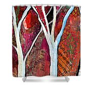 Hidden Forest I Shower Curtain