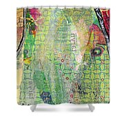 Hidden Forests IIi  Shower Curtain