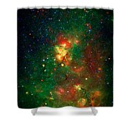 Hidden Nebula 2 Shower Curtain by Jennifer Rondinelli Reilly - Fine Art Photography
