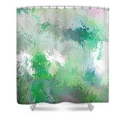 hidden valley II Shower Curtain
