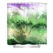 hidden valley VII Shower Curtain