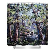 Hidden Waters Shower Curtain