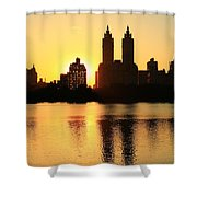 Hide And Peek Shower Curtain