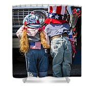 Hide And Seek Chevy Shower Curtain