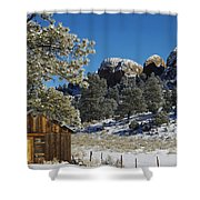 Hideout Shower Curtain