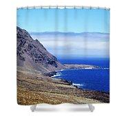 Hierro Landscape Shower Curtain