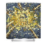 High - Aspens Shower Curtain
