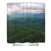 High Country 3 In Wnc Shower Curtain
