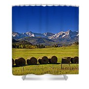 High Country Harvest Shower Curtain