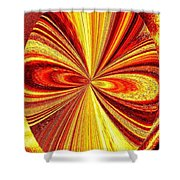 High Definition Color 2 Shower Curtain