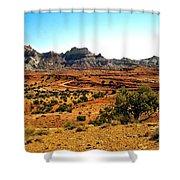 High Desert View Shower Curtain