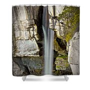 High Falls At Rock City Shower Curtain