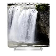 High Falls In Rochester New York Shower Curtain