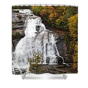High Falls In The Dupont State Forest Shower Curtain