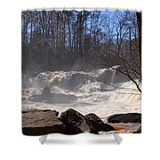 High Falls State Park Shower Curtain