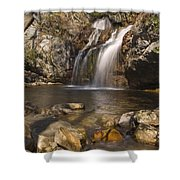 High Falls Talledega National Forest Alabama Shower Curtain