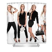 High Fashion Shower Curtain