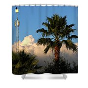 High Hunting Shower Curtain